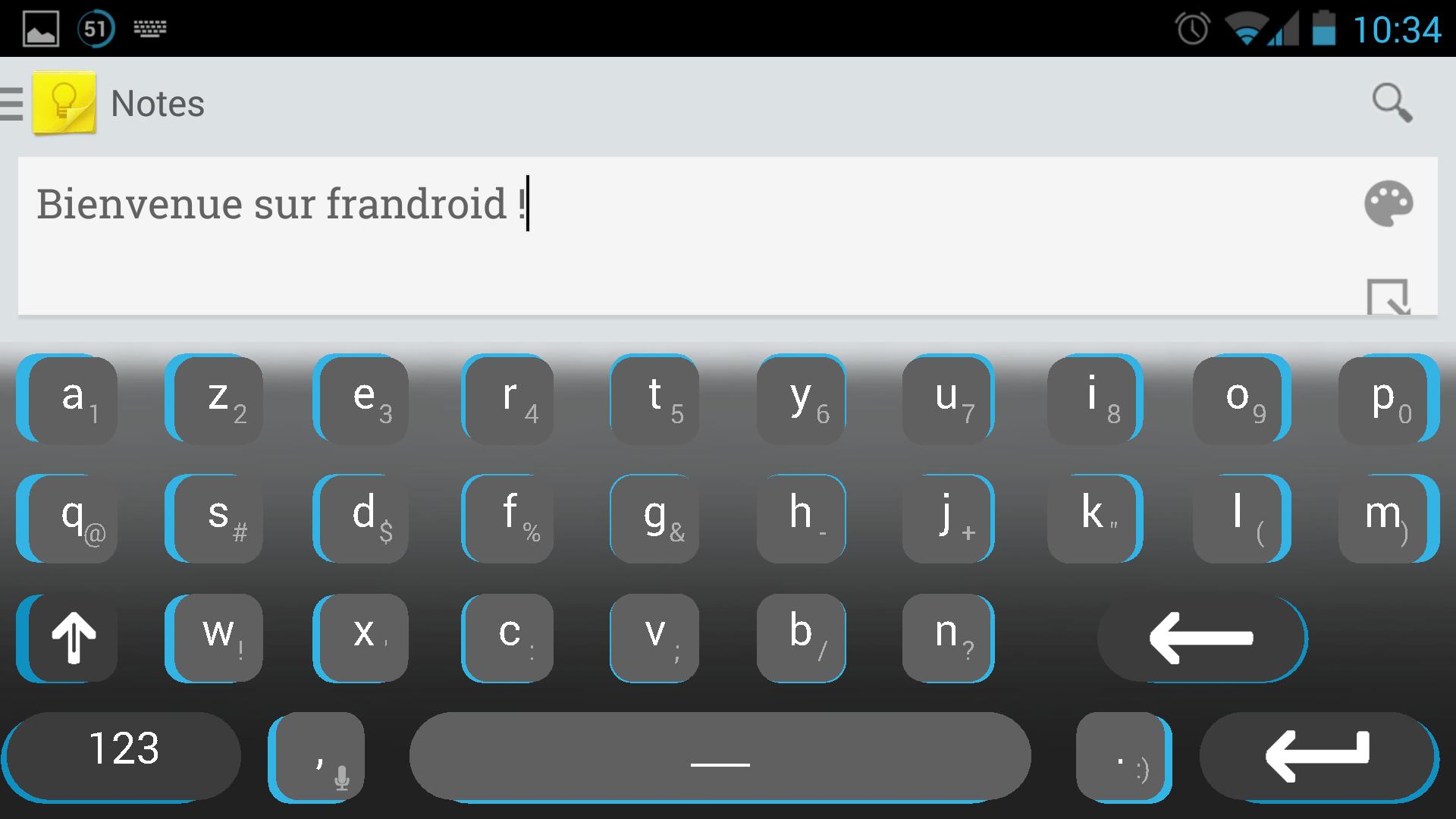 Dynamic Keyboard, un clavier virtuel qui grossit les lettres en se basant sur la prédiction textuelle