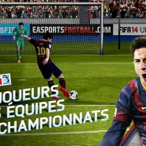 FIFA 14 : le jeu de foot s'invite sur le Play Store Suisse