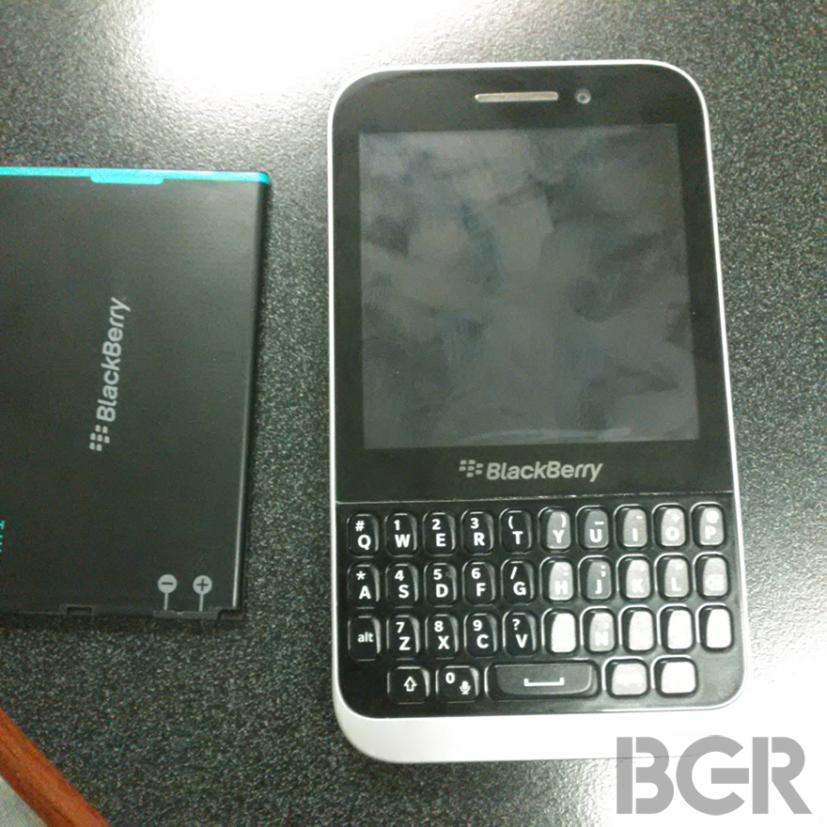 Kopi : un BlackBerry d'entrée de gamme aperçu en fuite