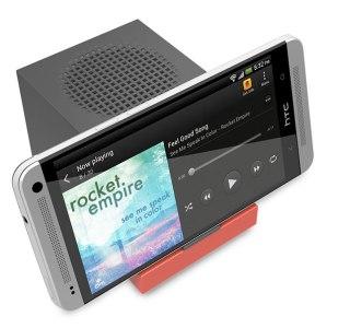 HTC présente Boombass, un amplificateur de basses miniaturisé
