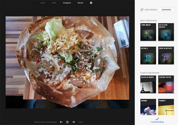 Snapseed fait son entrée dans Google+ pour Chrome