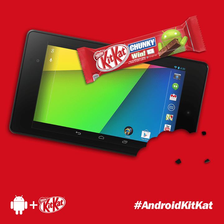 Android 4.4 KitKat compatible avec les terminaux d'entrée de gamme et les gadgets connectés