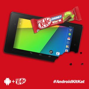 Nestlé confirme la disponibilité d'Android KitKat en octobre