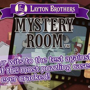 Layton Brothers Mystery Room, un jeu d'enquête à la Phoenix Wright débarque sur Android