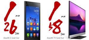 100 000 Xiaomi Mi3 vendus en 86 secondes