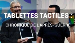 Tablettes tactiles : chronique de l'après-guerre