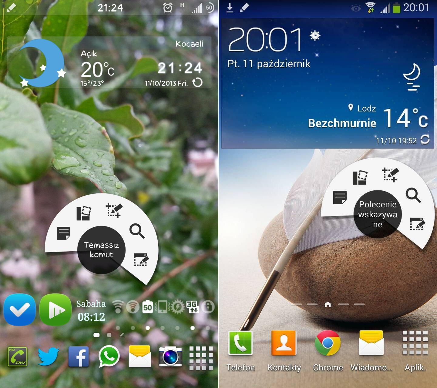 Air Command et d'autres fonctionnalités du Galaxy Note 3 disponibles sur le Galaxy Note 2