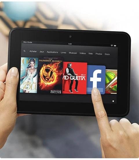 Amazon baisse le prix de sa Kindle Fire HD à 139 euros