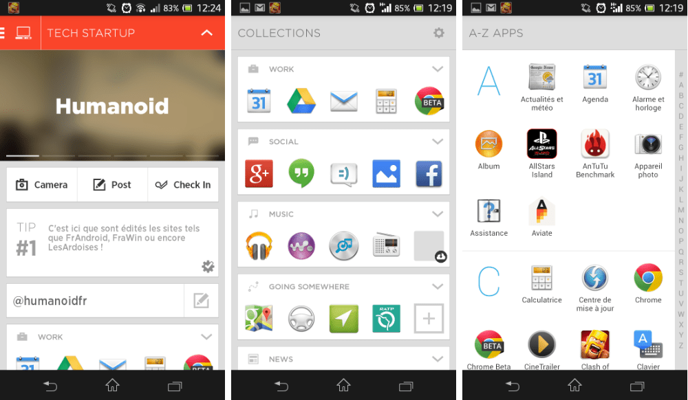 Aviate Beta, le lanceur d'applications qui (bad) buzz