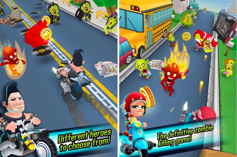 Kill All Zombies, un jeu à mi-chemin entre Jetpack Joyride et Subway Surfers