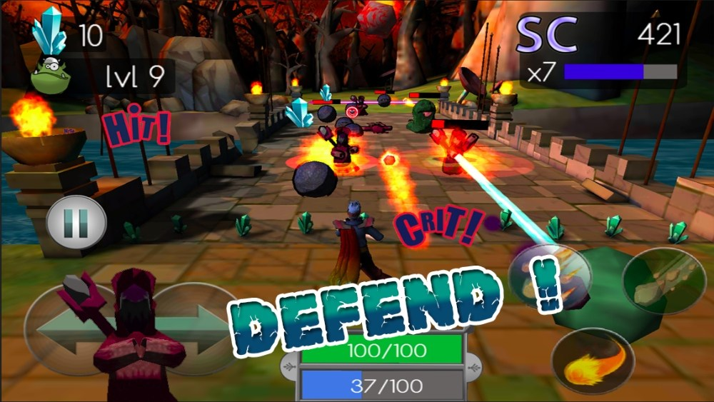 Mana Defense, un tower defense qui se démarque sur Android