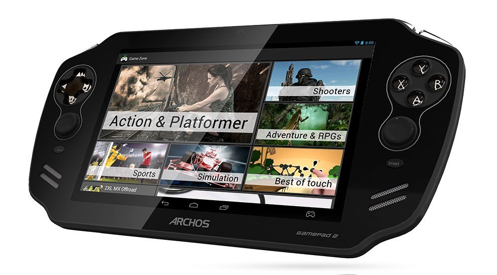 L'Archos GamePad 2 est disponible à 179,99 euros