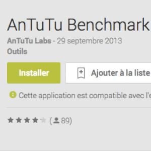AnTuTu Benchmark X Editor, le test de performances pour les tablettes Ainol et Ramos