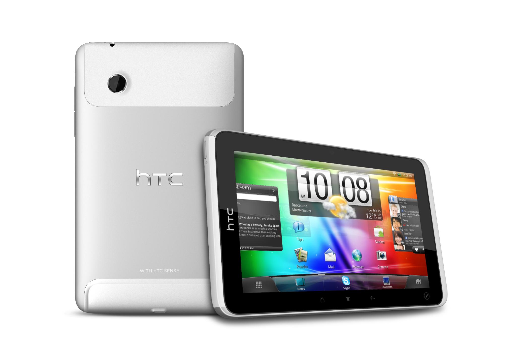 HTC confirme son retour dans le monde des tablettes