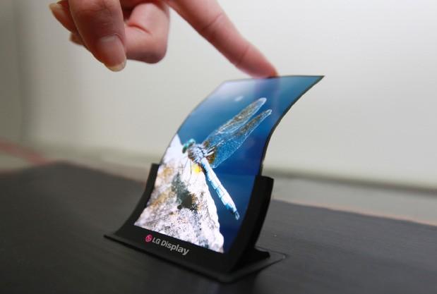 LG annonce la production des premiers écrans OLED flexibles