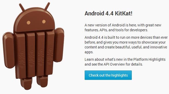 Android 4.4 (API level 19), les changements pour les devs et les graphistes