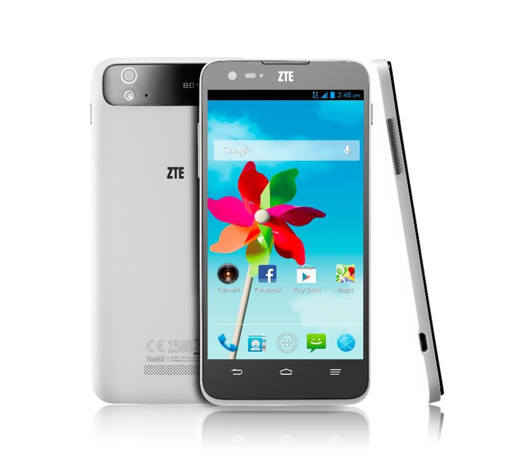 ZTE Grand S Flex, un smartphone de 5 pouces HD et 4G sur Android