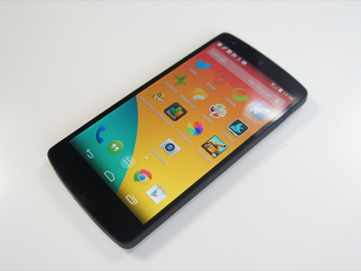 Test du Google Nexus 5, le meilleur d'Android