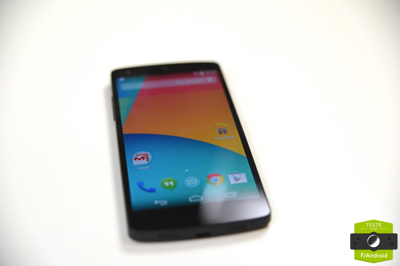 Une commande vocale de type «Ok Google Now» portée sur le Nexus 5