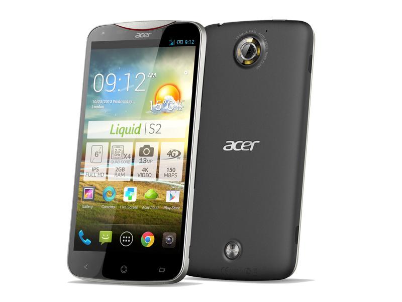 Acer Liquid S2 : la phablette sous Snapdragon 800 à 529 euros ne ratera pas Noël