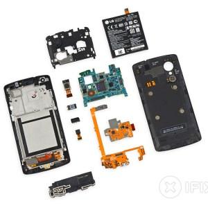 Google Nexus 5 : à peine sorti, déjà démonté