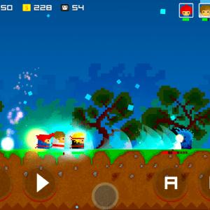 Nakama, un Beat 'Em Up rétro en 2D de Crescent Moon sur Android