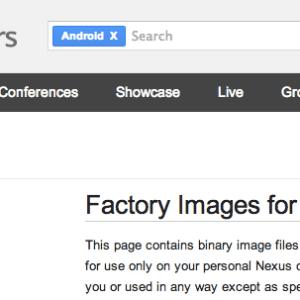 Nexus 5 : les drivers et l'image de restauration d'Android 4.4 (KRT16M) sont arrivés