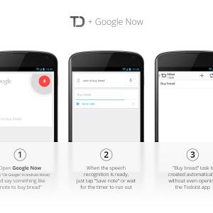 Todoist s'offre le support d'Android KitKat et de Google Now