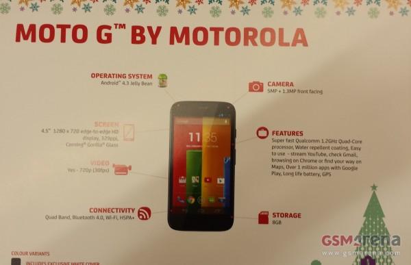 Motorola Moto G, de l'Android à 150 euros ?