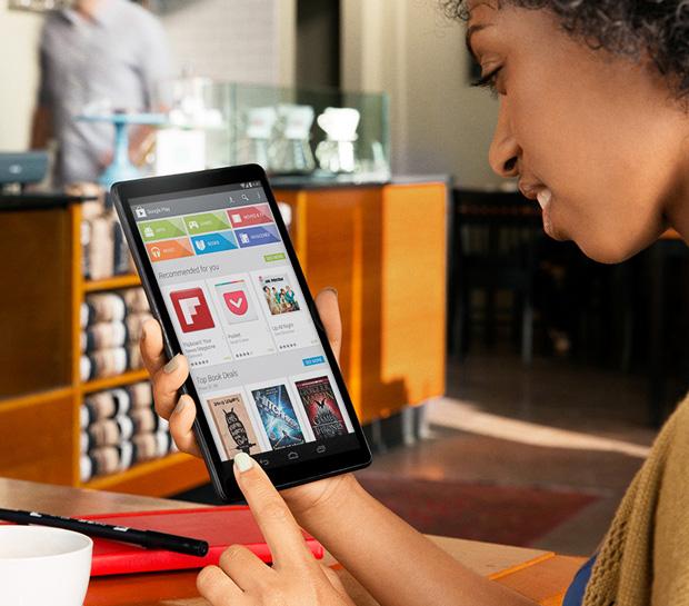 La Nexus 8 aperçue sur le site d'Android ?