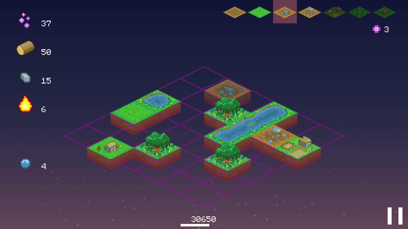 Promised Land, pas vraiment un jeu, plutôt un jouet