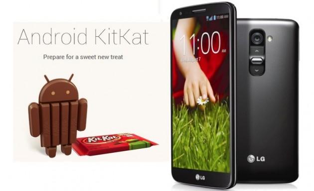 C'est confirmé, le G2 de LG passera à KitKat en janvier