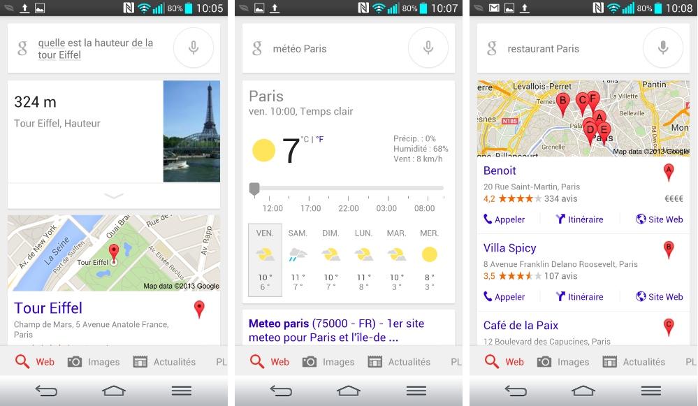 Google Voice Search s'améliore en français, allemand et japonais sur Android et iOS