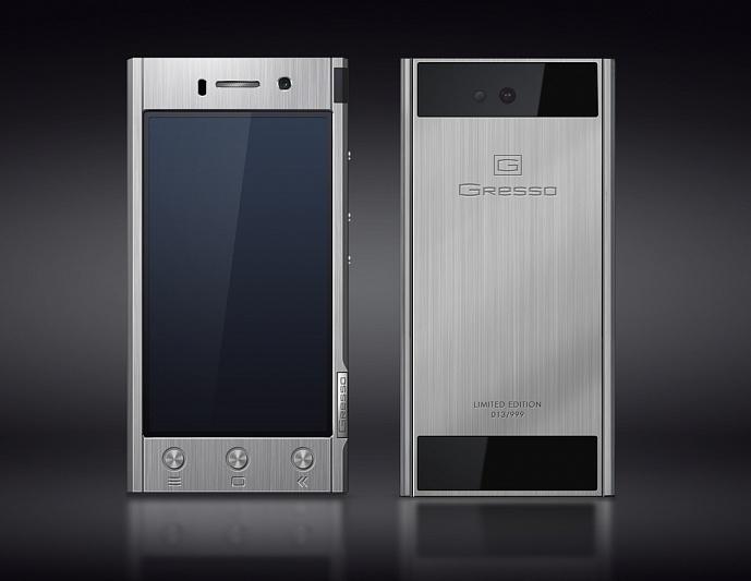 Gresso Radical, un smarphone Android en titane facturé de 1800 à 2300 dollars
