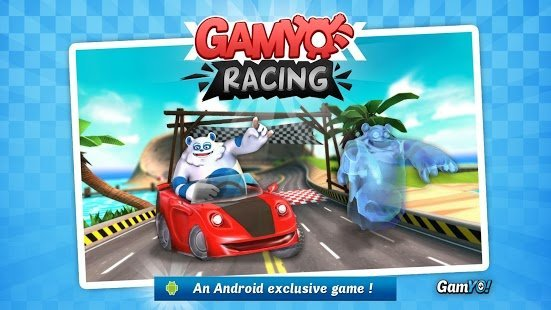 Gamyo Racing, un jeu de courses chrono en exclusivité sur Android
