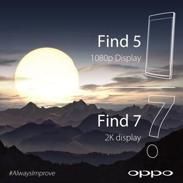 L'Oppo Find 7 aura bien un écran 2K