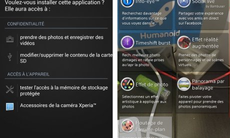 Background Defocus, l'application du Xperia Z1S disponible sous forme...
