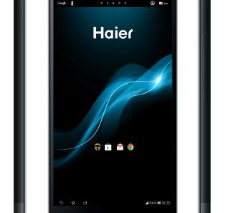 La HaierPad H6000 au CES 2014, quand Haier se lance dans les phablettes