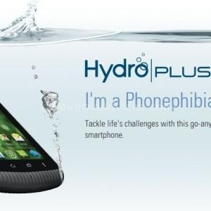 Pour un smartphone d'entrée de gamme waterproof, voyez le Kyocera Hydro Plus