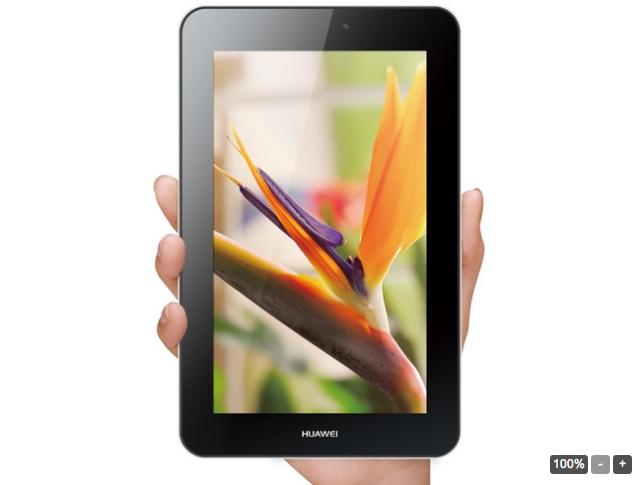 Huawei MediaPad 7 Youth 2, une tablette 3G à 130 euros ?