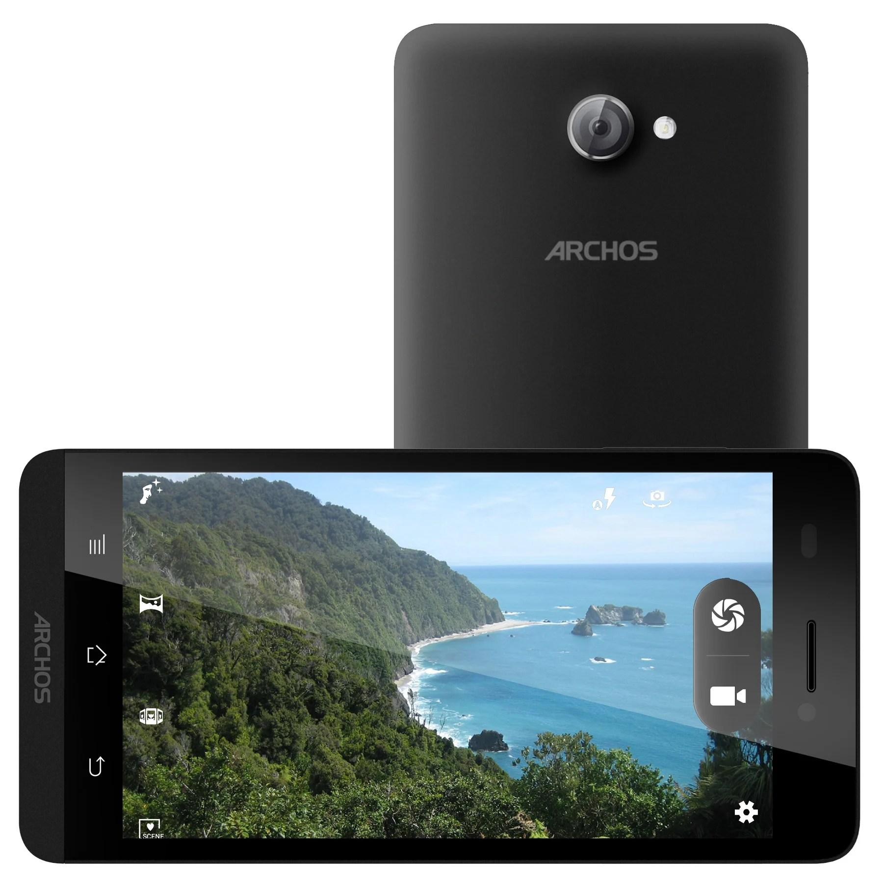 Smartphones 4G Archos : les 50 et 45 Helium en vente dès les 14 et 21 avril