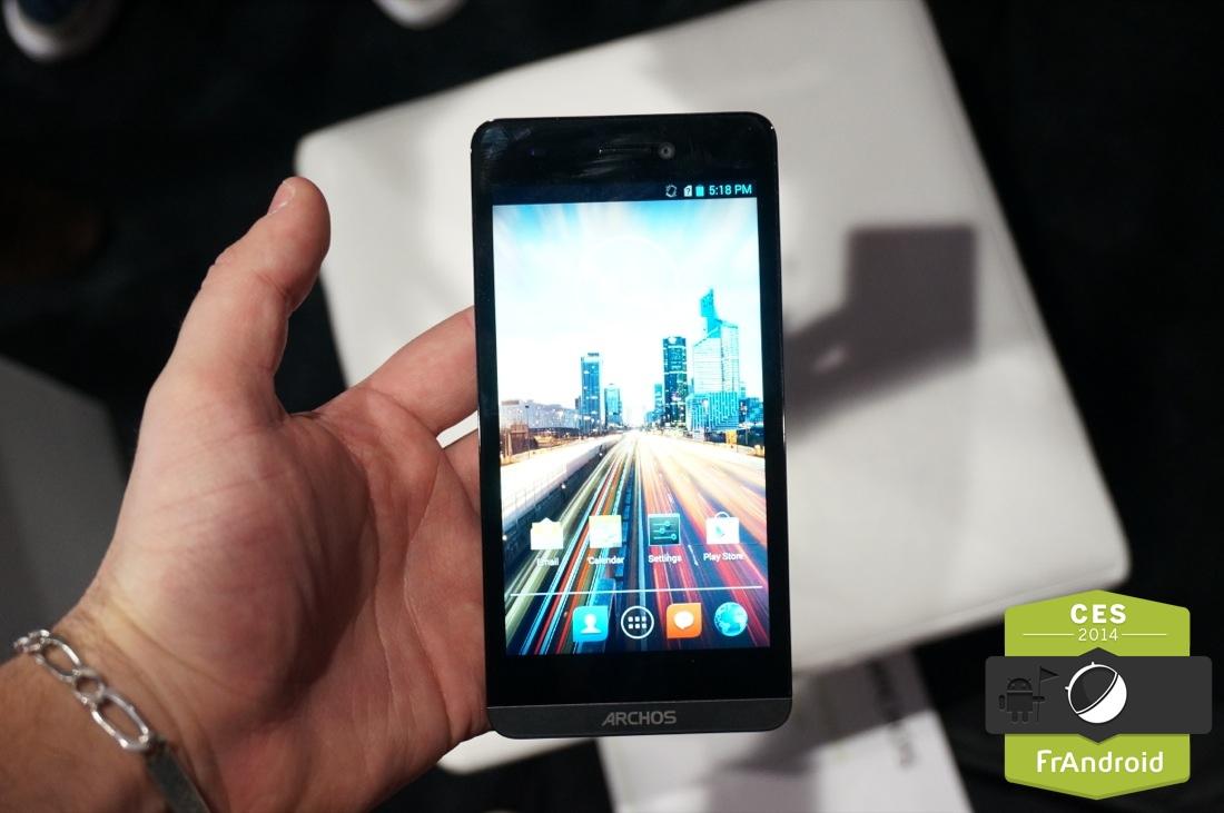 Prise en main de l'Archos 50 Helium, nos premières impressions sur cet Android 4G à 229 euros