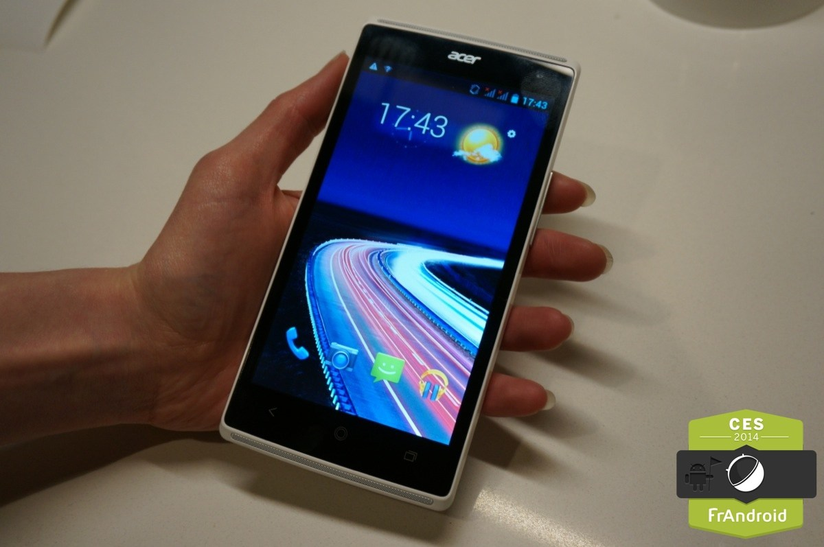 Prise en main du Acer Liquid Z5 Duo, un format 5 pouces à 150 euros