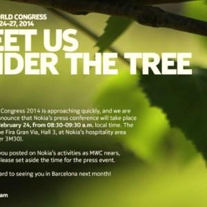 Au MWC 2014, Nokia lance une invitation sous les arbres… de «Normandy» ?