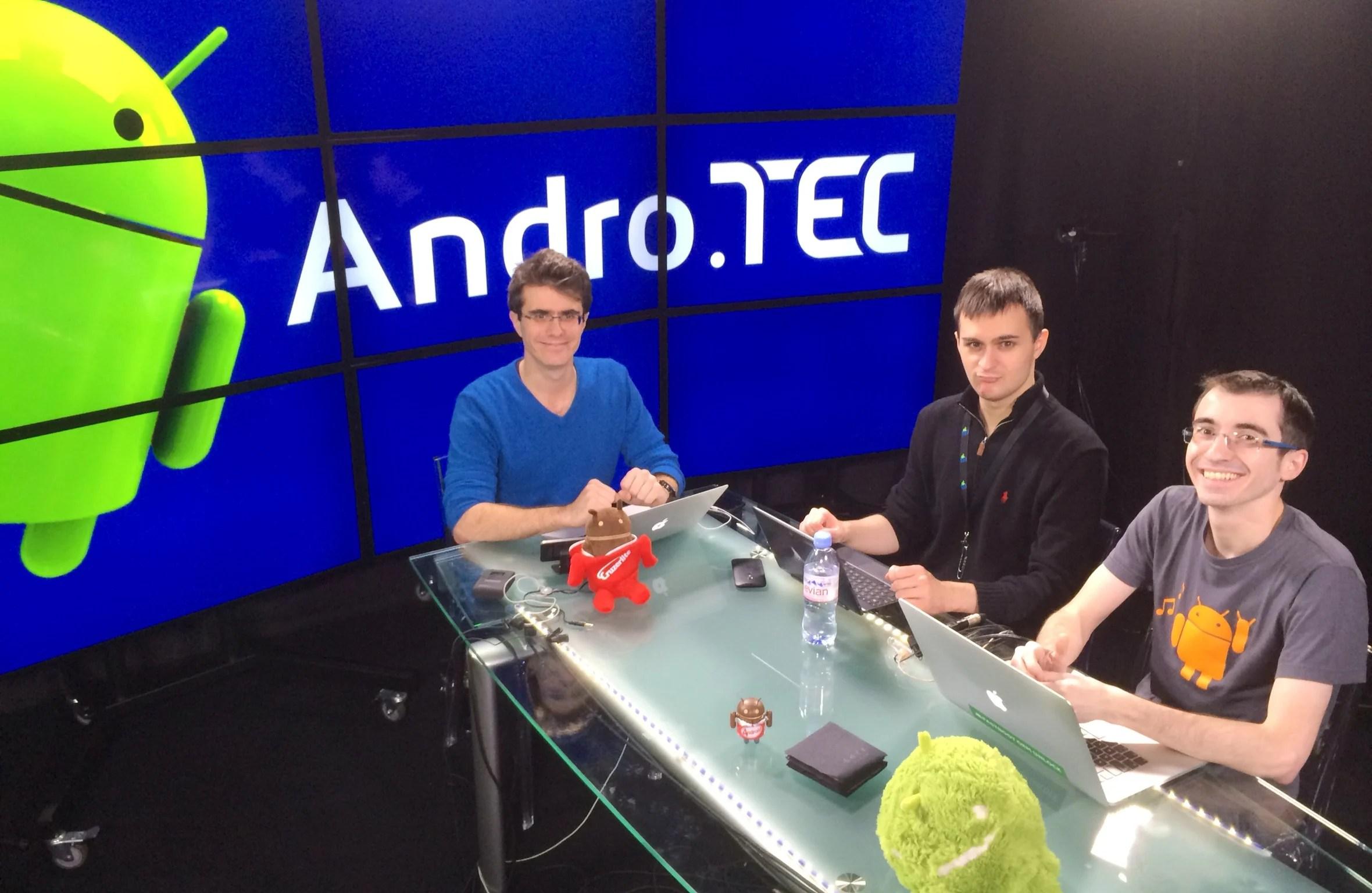AndroTEC 006 : regardez l'enregistrement en live et posez vos questions !