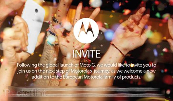 Motorola invite les journalistes le 14 janvier à Londres : serait-ce le Moto X européen ?