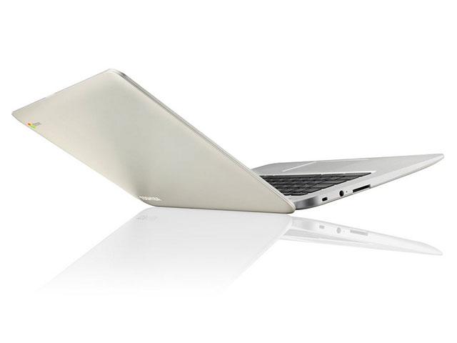 Toshiba présente son premier Chromebook, seul de sa catégorie en 13,3 pouces