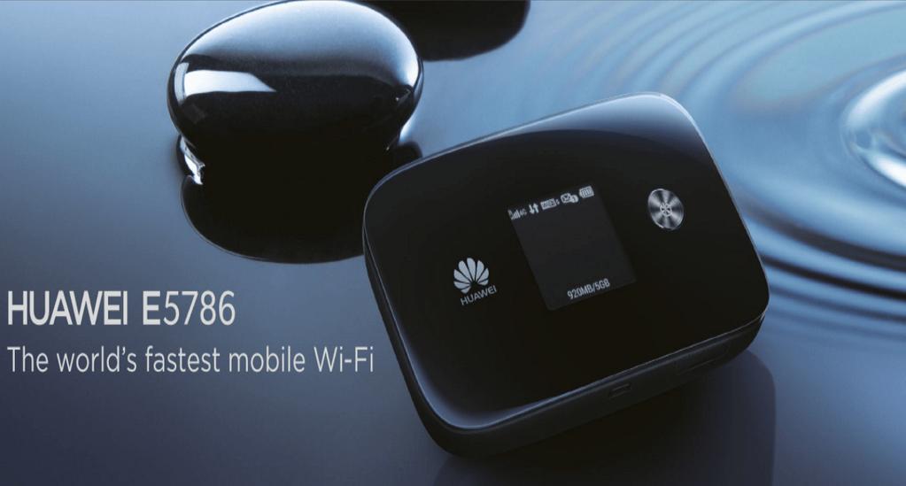 Huawei E5786, le MiFi le plus rapide au monde (jusqu'à 300 Mbit/s) est officiel