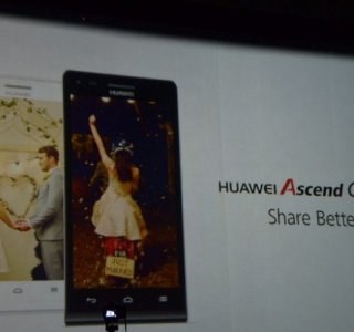 Huawei présente son smartphone 4G Ascend G6 au MWC