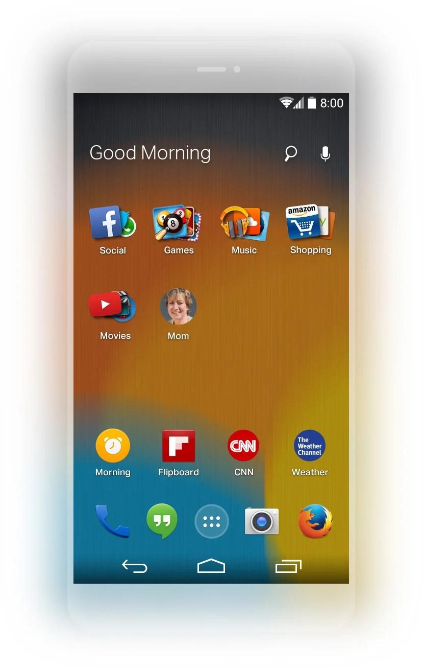 Mozilla dévoile Firefox Launcher pour Android, sur la base de EverythingMe